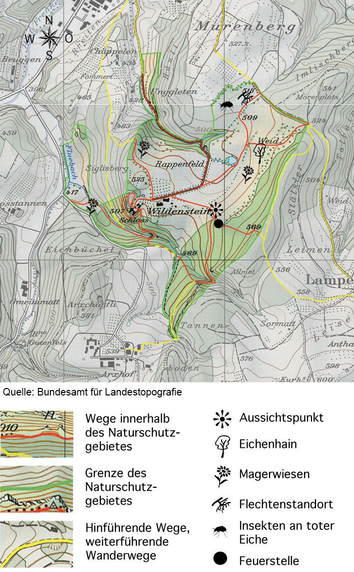 map wildenstein